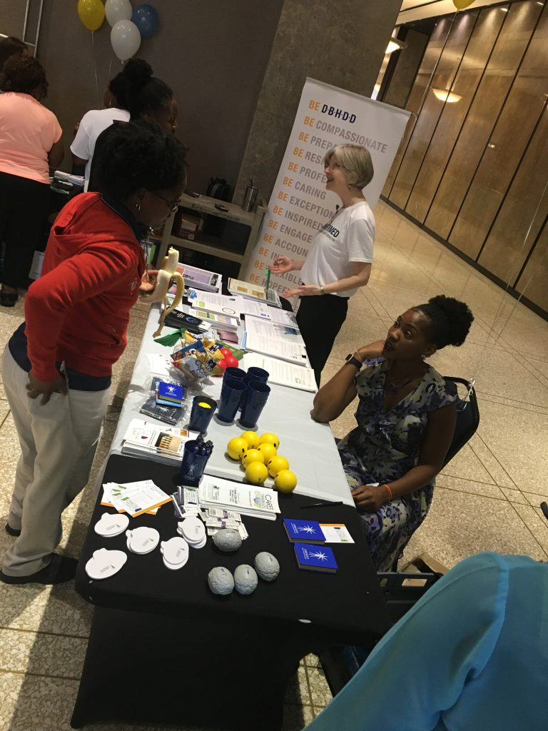 The Office of Adult Mental Health's Mental Health Fair at 2 Peachtree